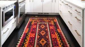 گلیم فرش اشپزخانه